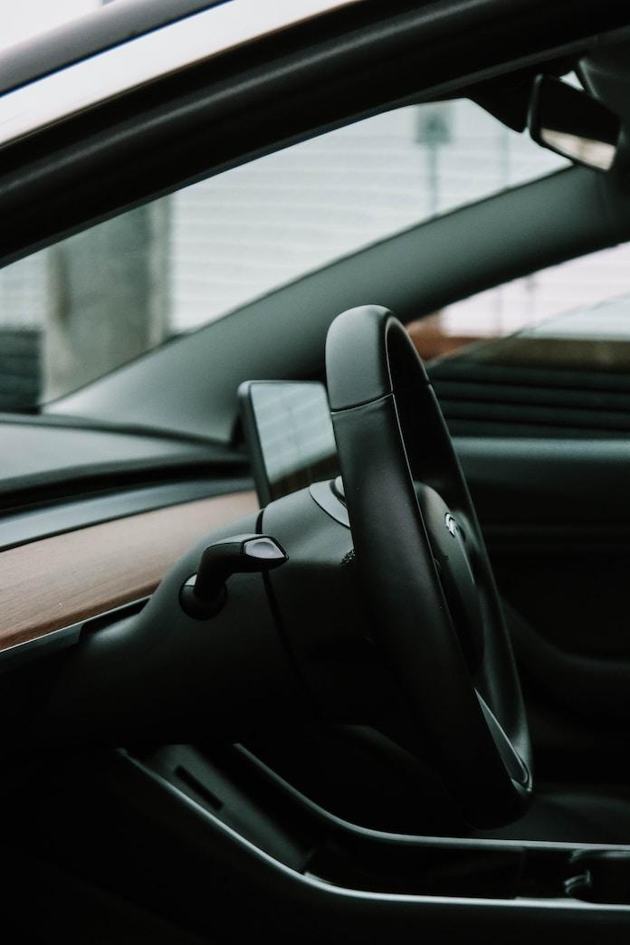 black car door during daytime
