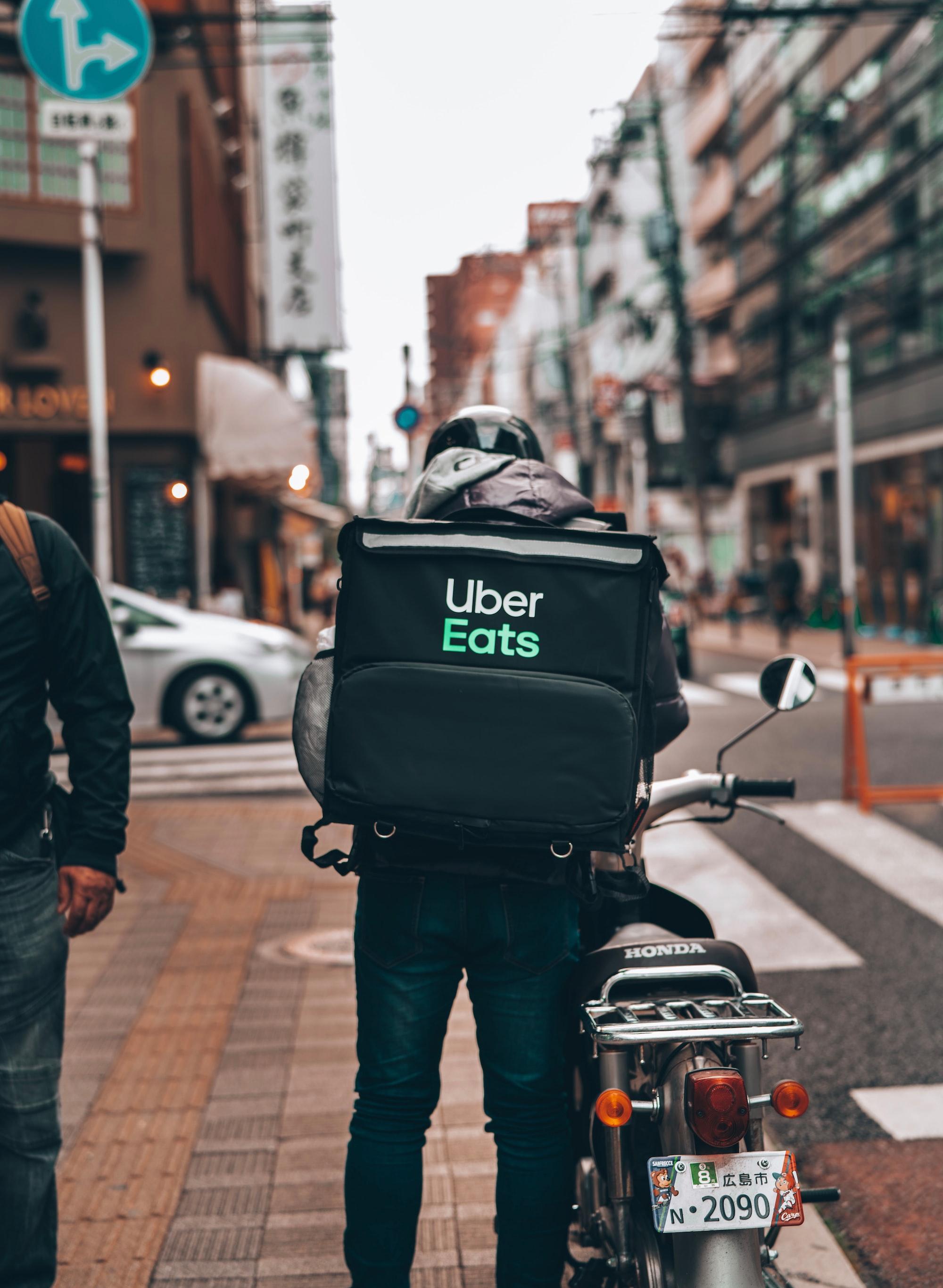 Uber Eats Hiroshima city