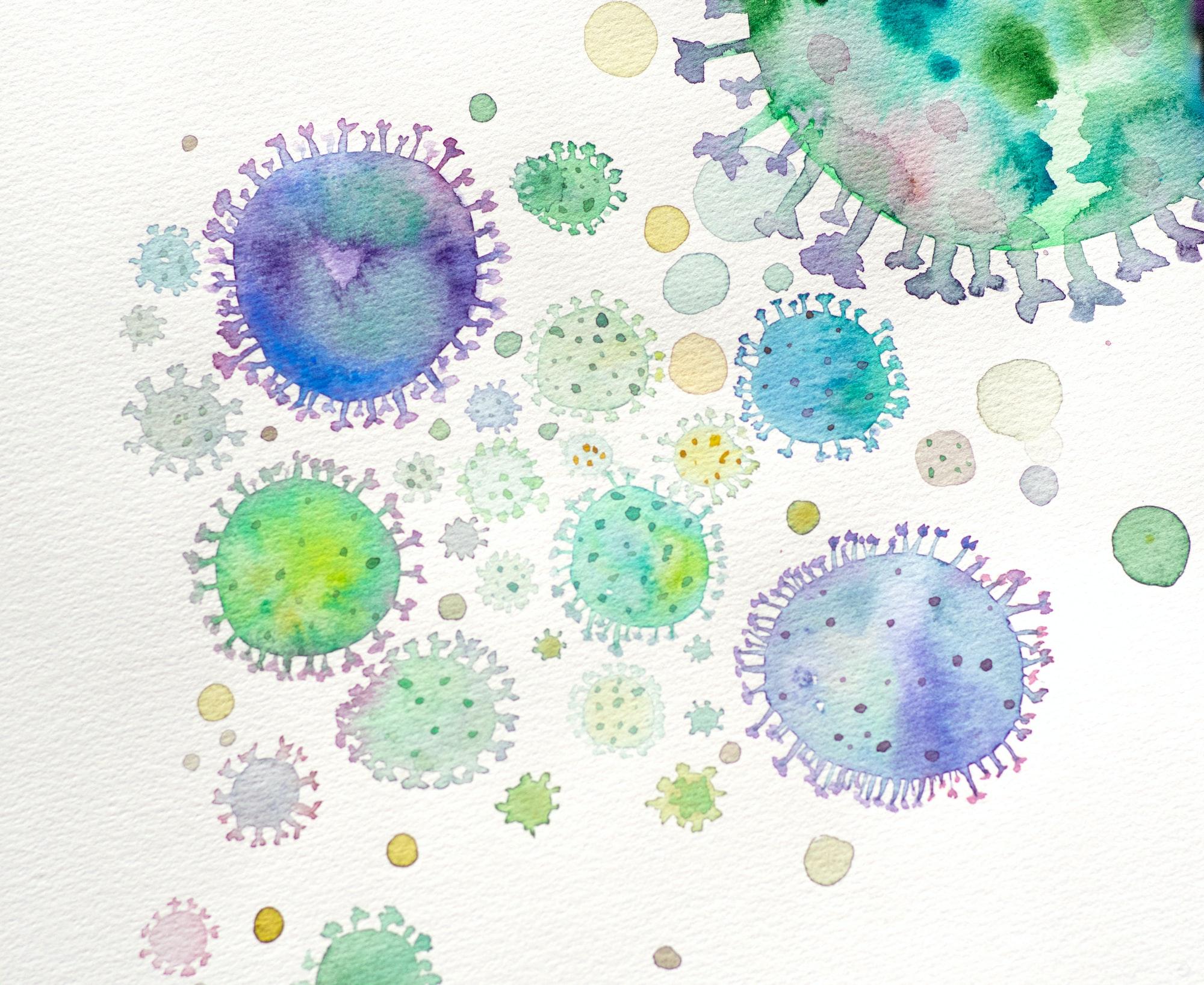 Coronavirus smittar ibland via luften