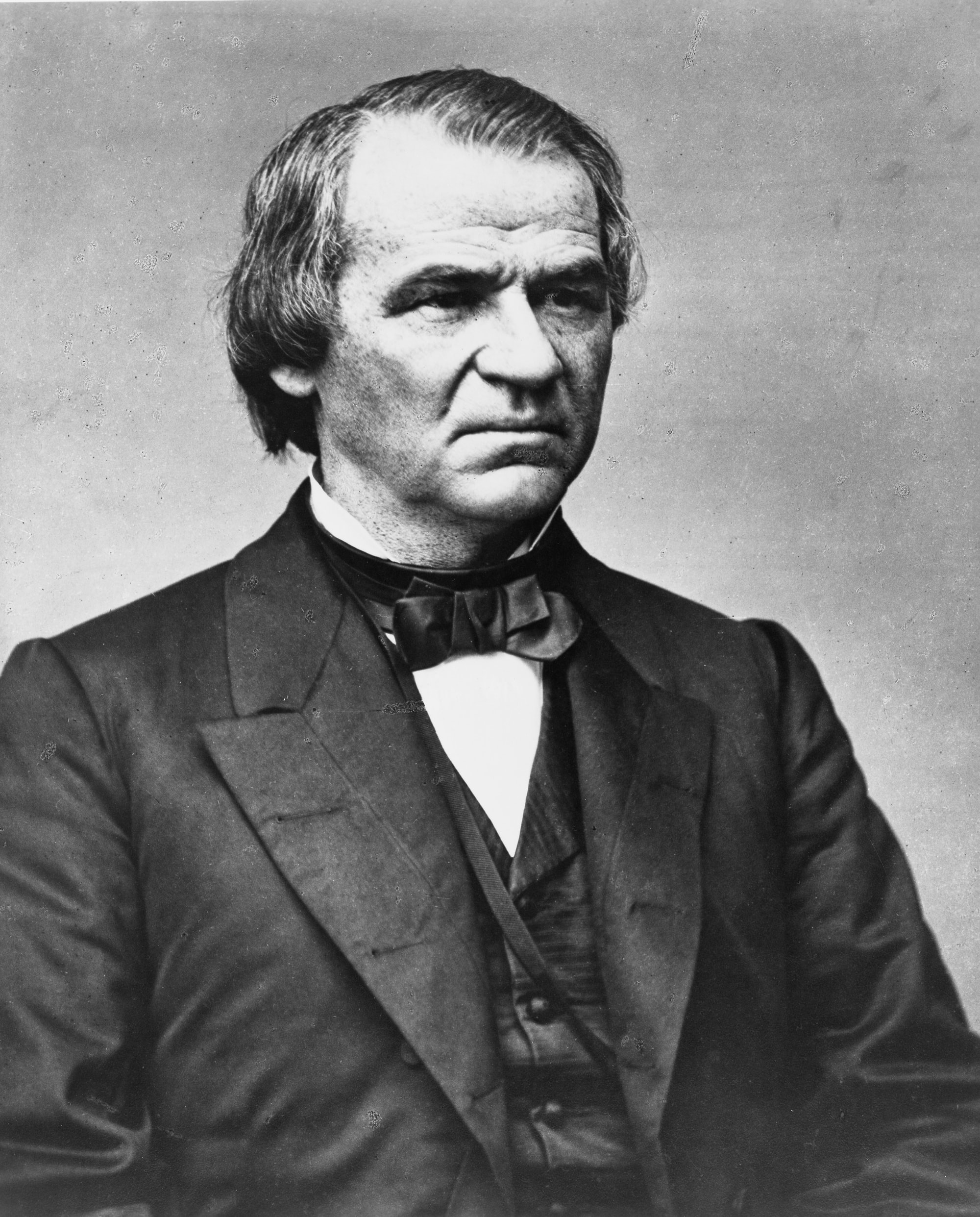 [Hon. Andrew Johnson, half-length portrait, facing left]. Photograph from the Brady-Handy Collection, [between 1855 and 1865, printed later]. Library of Congress Prints & Photographs Division. https://www.loc.gov/resource/cph.3a53290/