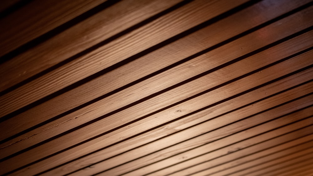 brown wooden surface in close up photography