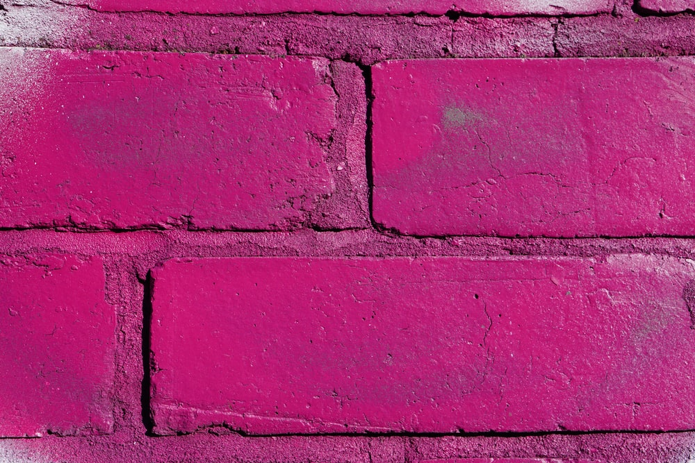 Pink Brick Wall Pictures Download Free Images On Unsplash
