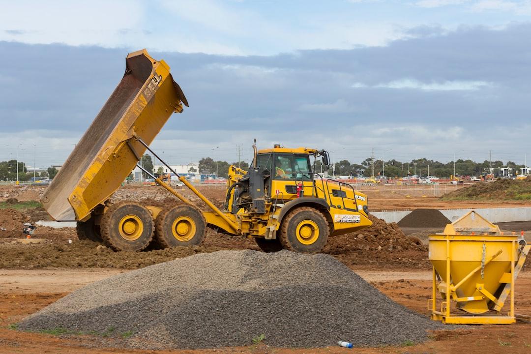 Roads construction site.