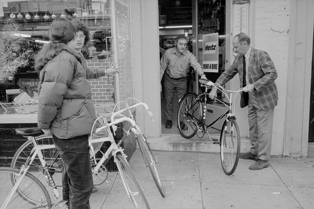 Bicycle rental store, District Hardware