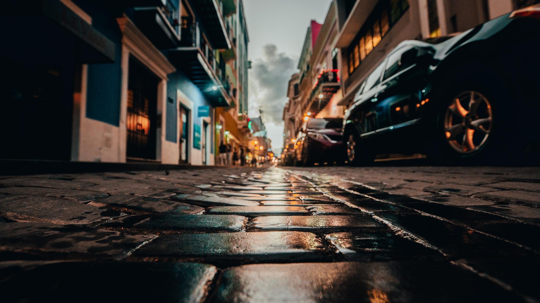 street of san juan, puerto rico