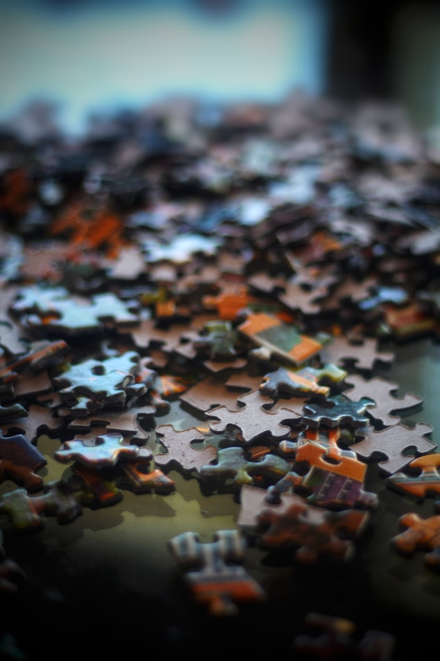 brown and black jigsaw puzzle diy gifts for dad