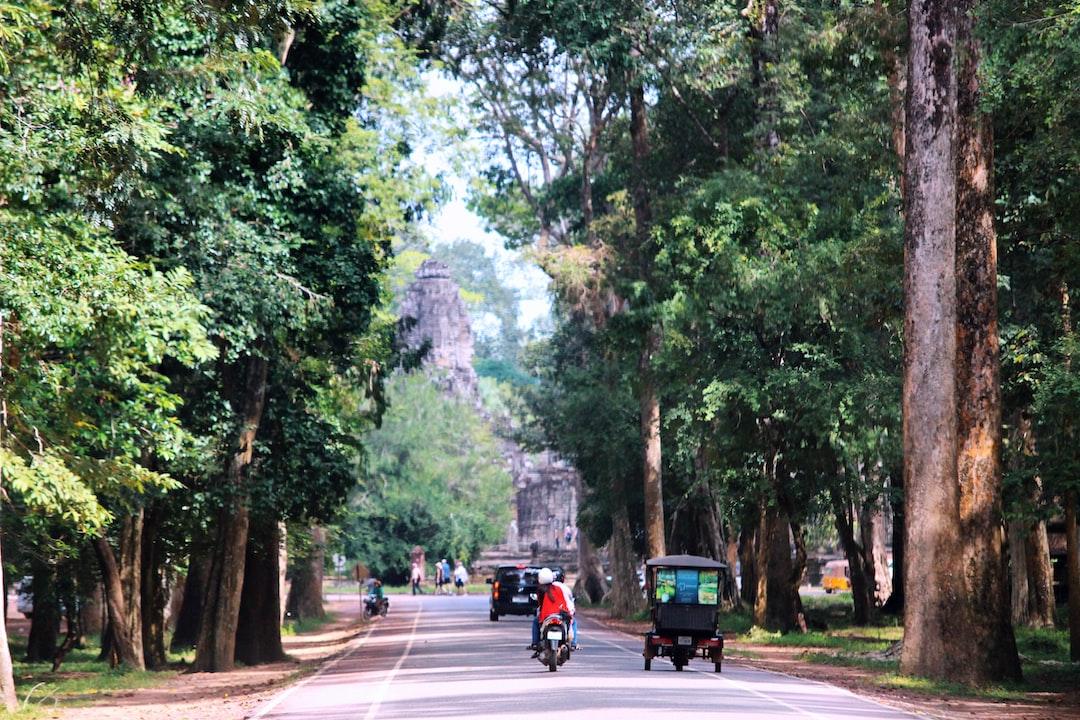 Bayon Temple gate, Seim Reap Province.