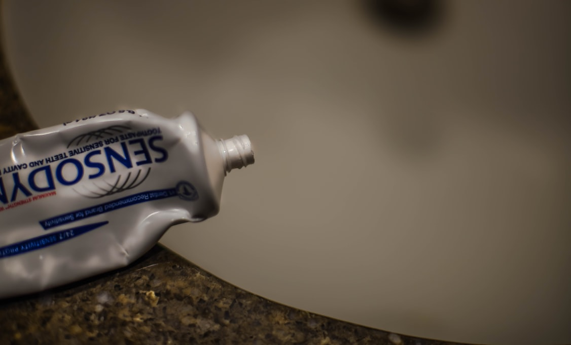 Some toothpaste's contain antifreeze.