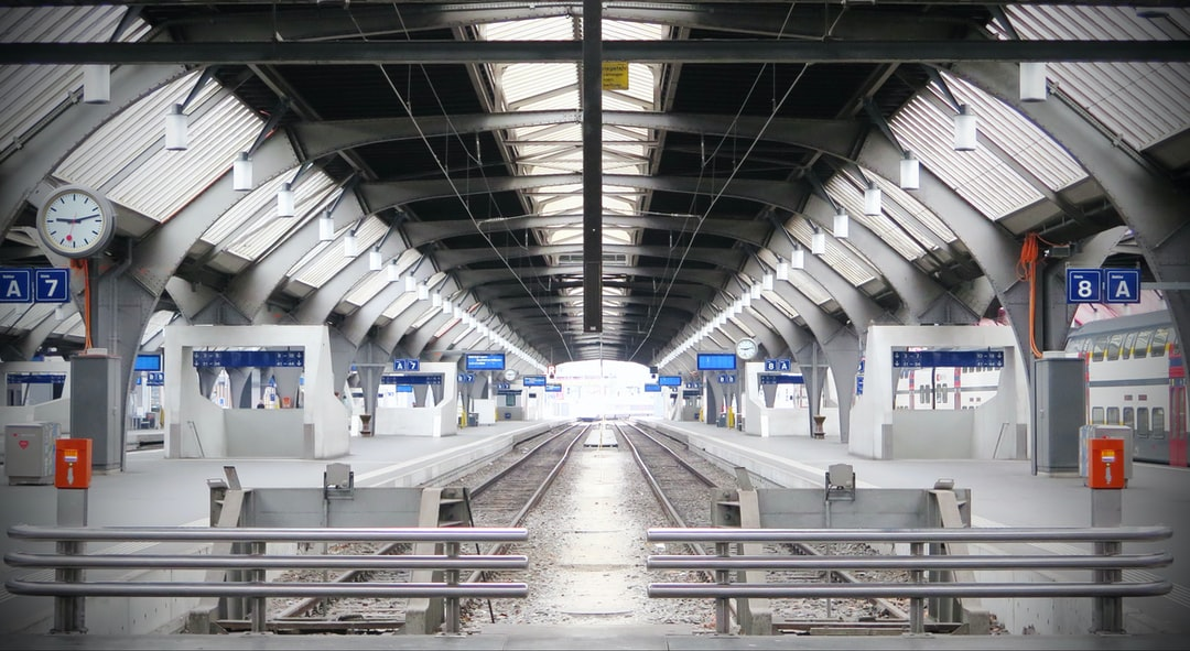 Zürich Main Railway Station during the Corona Silence