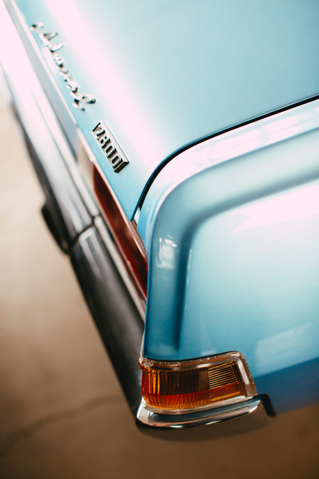 Classic oldtimer vintage car german engineering – Opel Diplomat Admiral B 2800 S rear tail light