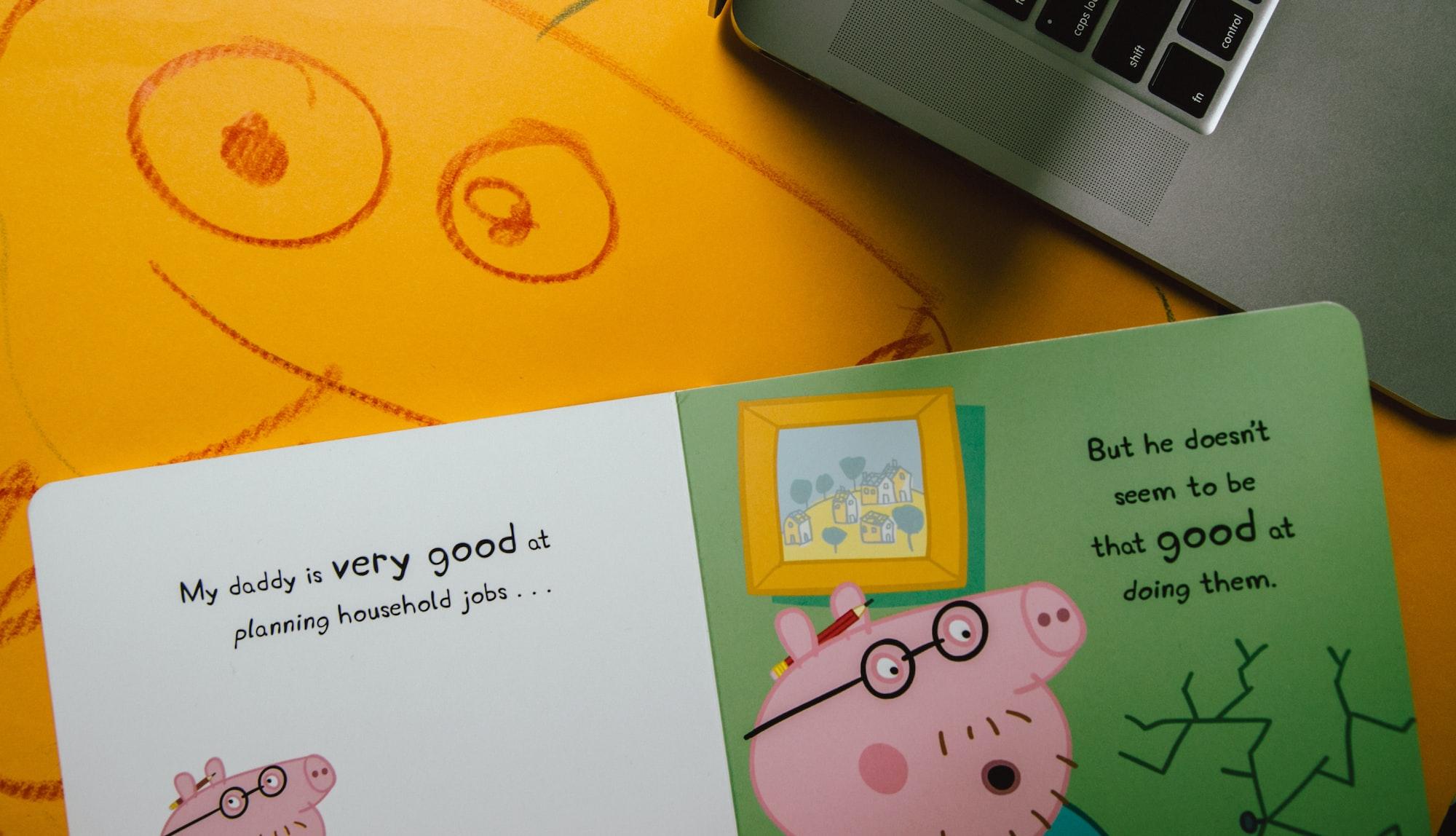 Peppa Pig ensina inglês: um estudo recente