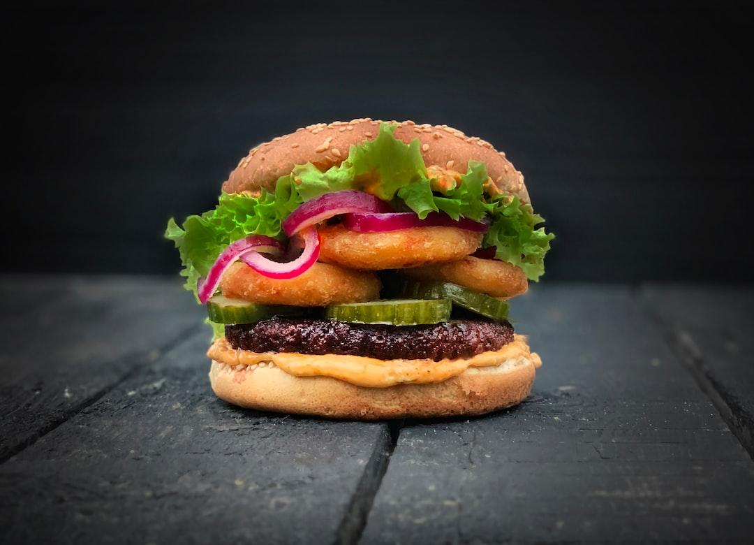 LikeMeat Like Burger - Soya based,  photographer & cook: Line Tscherning