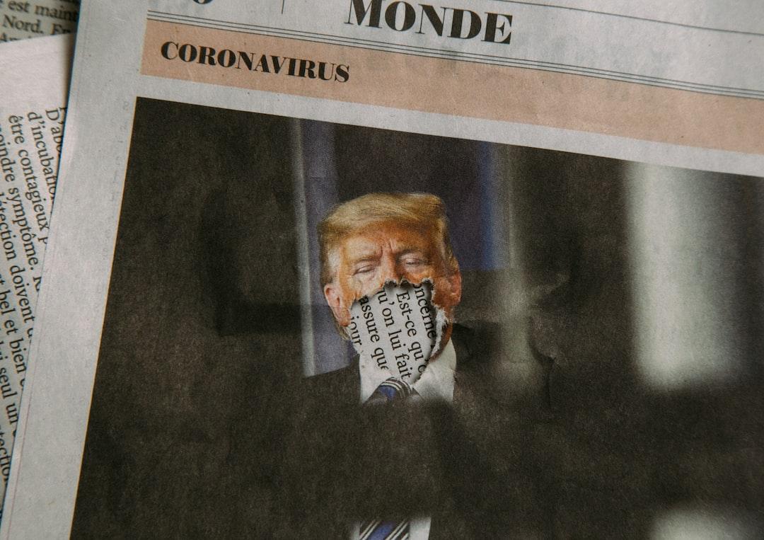 Trump and Coronavirus (Newspaper)