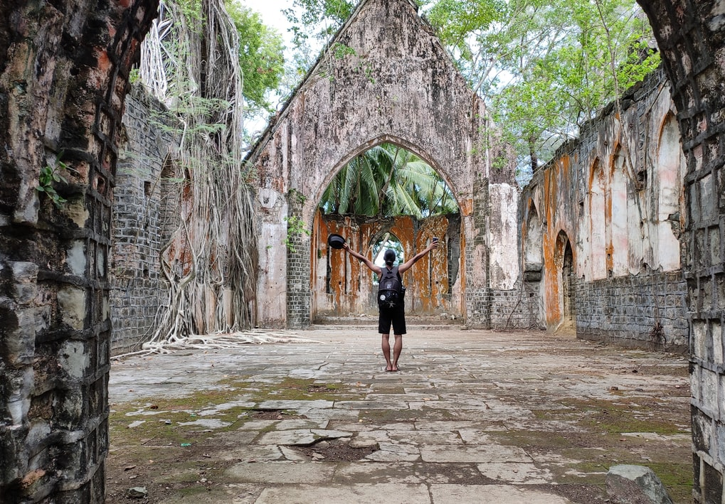 Ruins in Andaman, one of the best places to visit