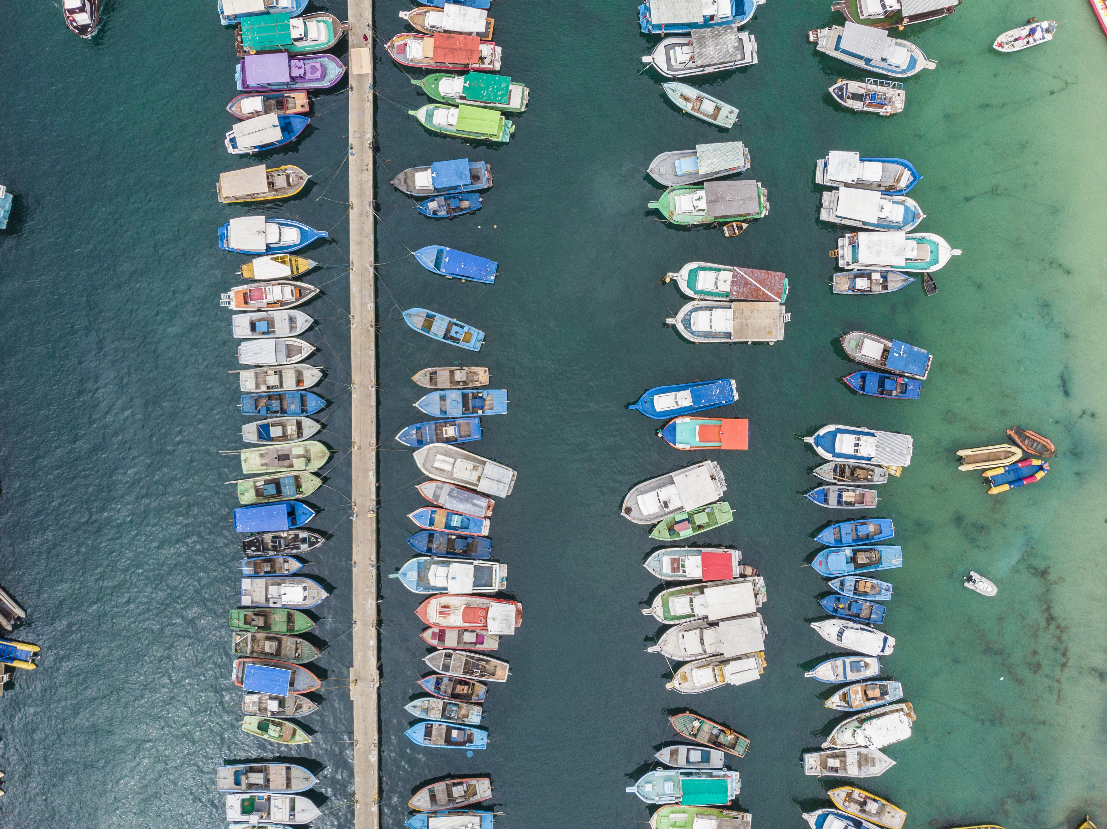 Boats from the air