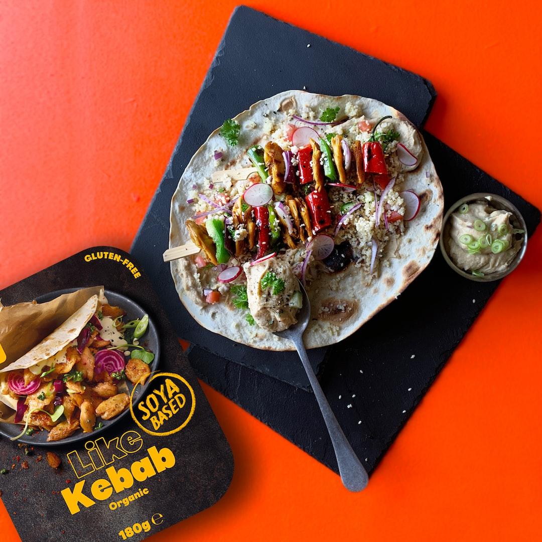 LikeMeat Like Kebab - Organic & Soya based, photographer & cook: Line Tscherning