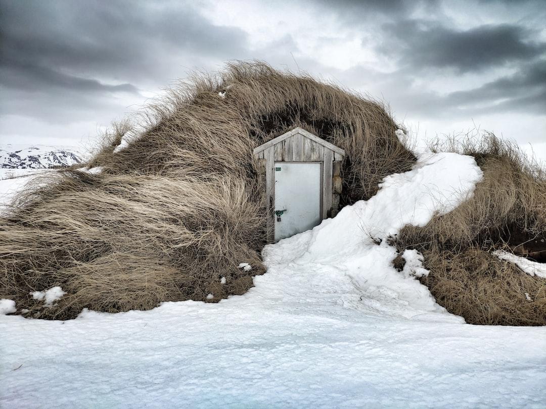 Icelandic Home Turf House Iceland