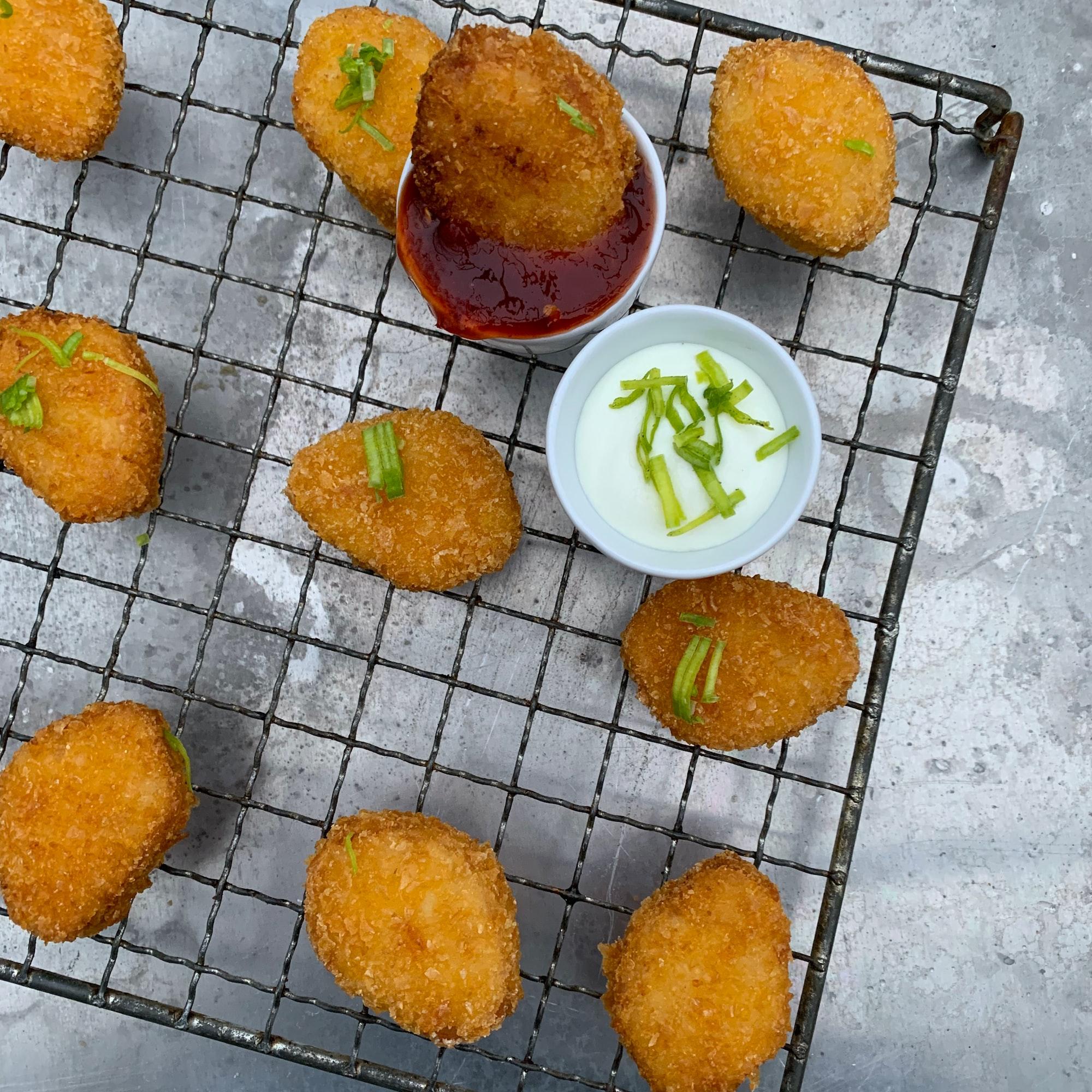 LikeMeat Like Nuggets - Soya based, photographer & cook: Line Tscherning