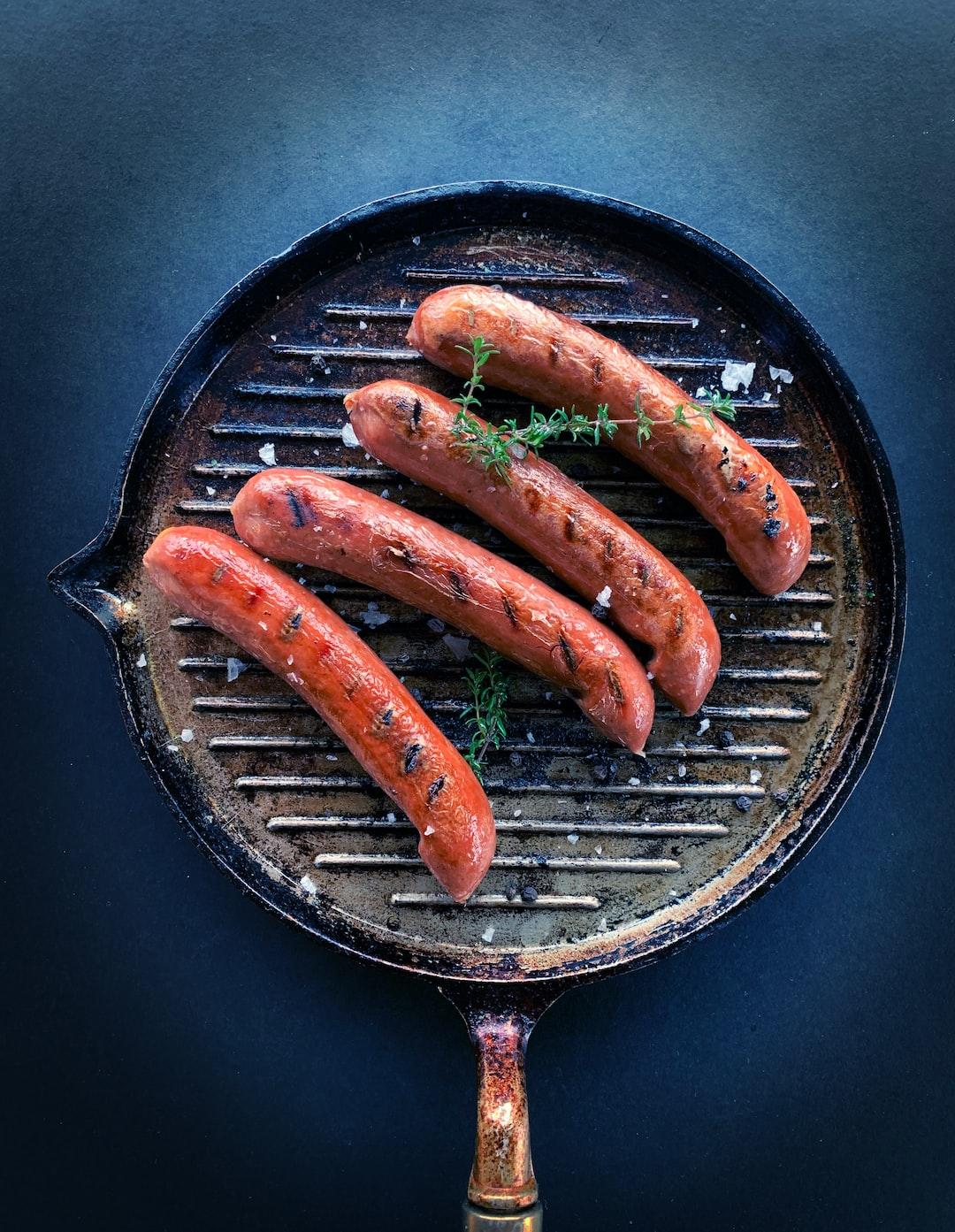 LikeMeat Like Smoked Sausage - Pea based, photographer & cook: Line Tscherning