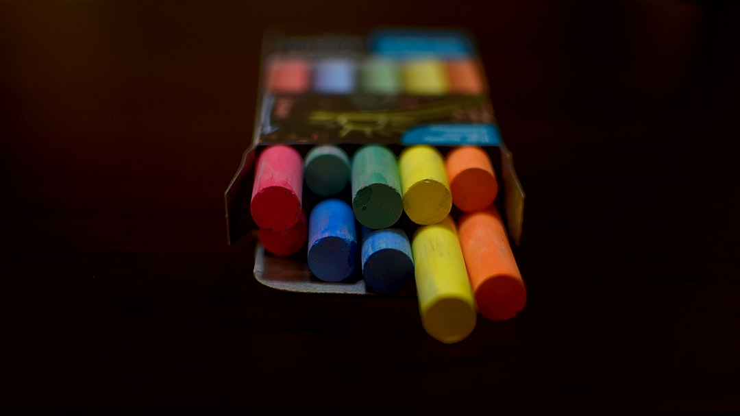 colourful, chalk, academic, drawing