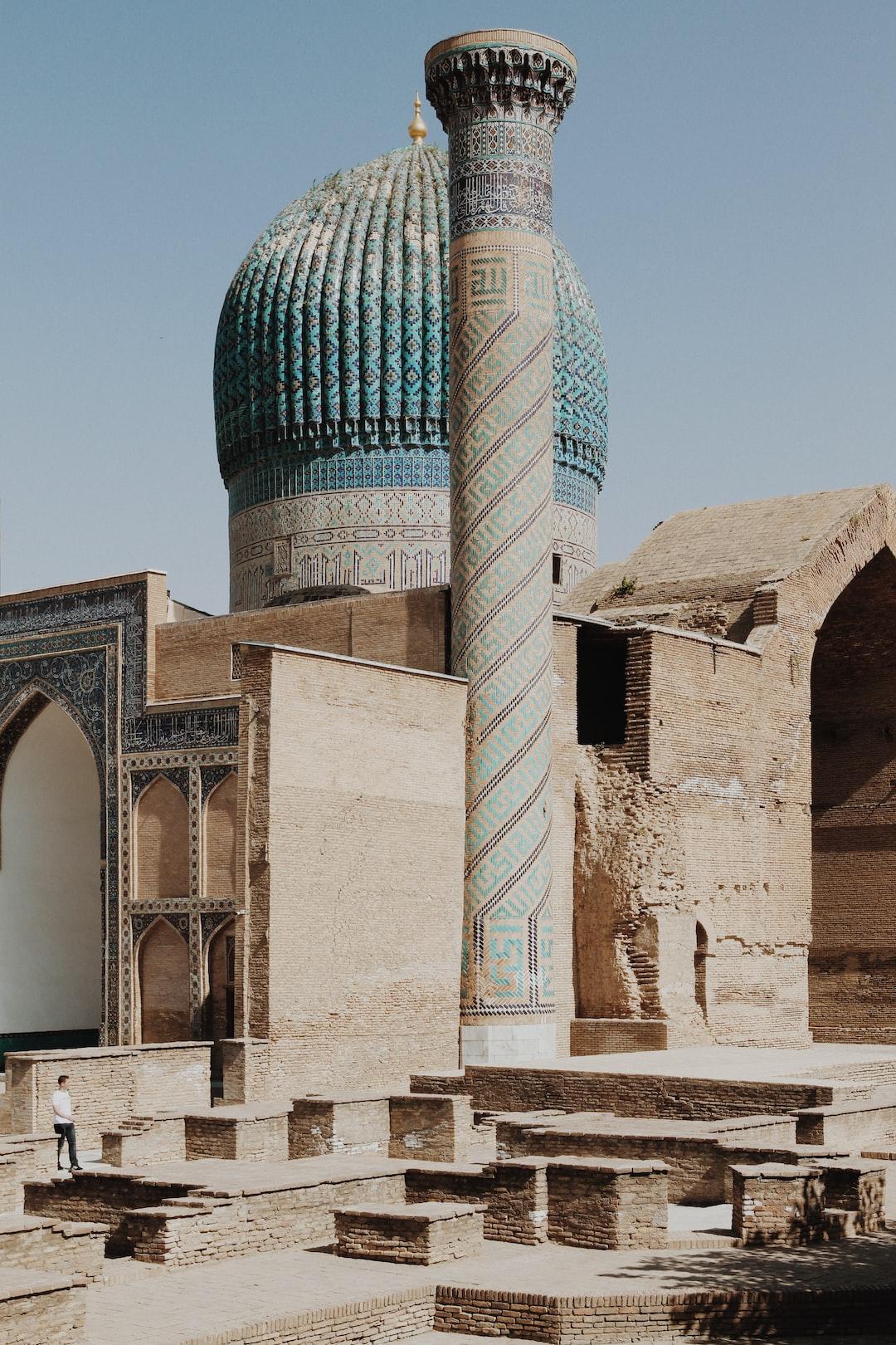 Gur-Emir-Mausoleum, Samarkand