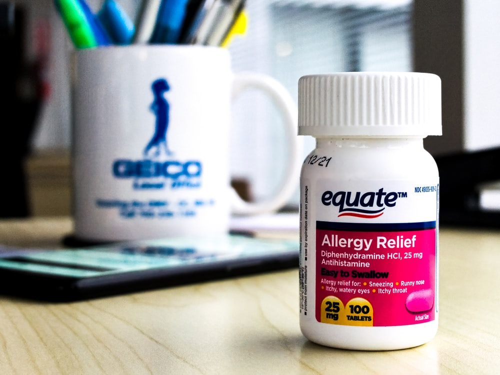 equate allergy relief tablets 100 tablets