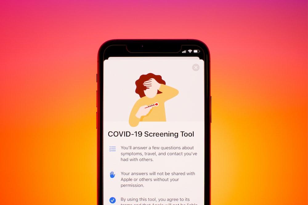 Apple's COVID-19 Screening Tool
