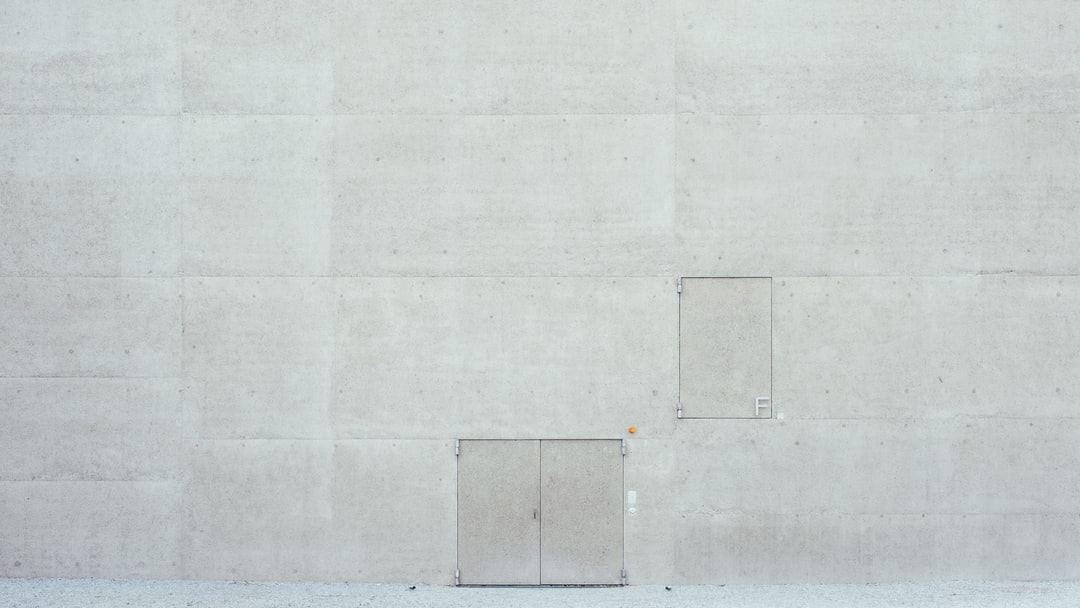 White Wall With White Paint - unsplash