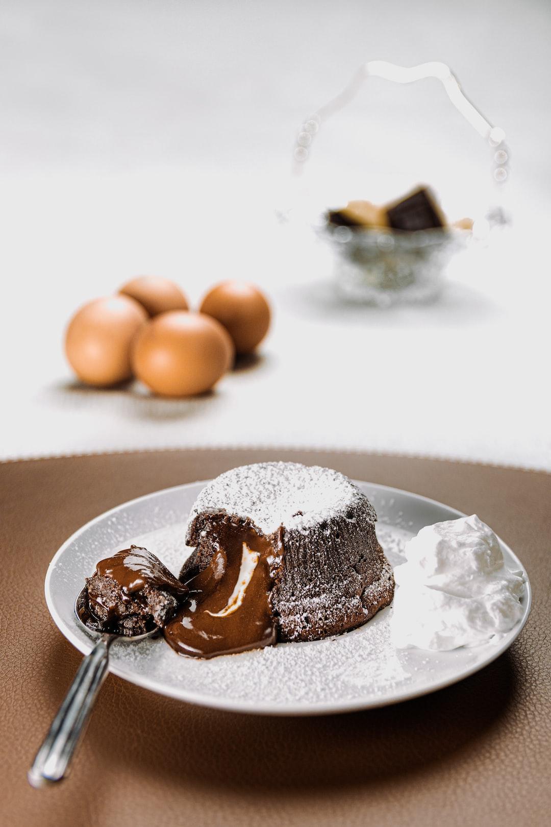 Bouble Chocolate Dessert - small cake