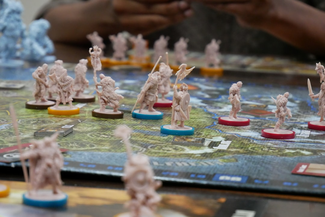 A game of Blood Rage