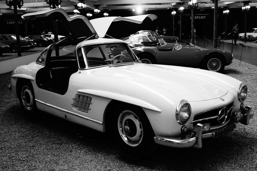 "First produced in 1952, the 300 SL, with it is ""gullwing"" doors and tubular frame chassis, left a significant imprint on both automobile and Mercedes history."