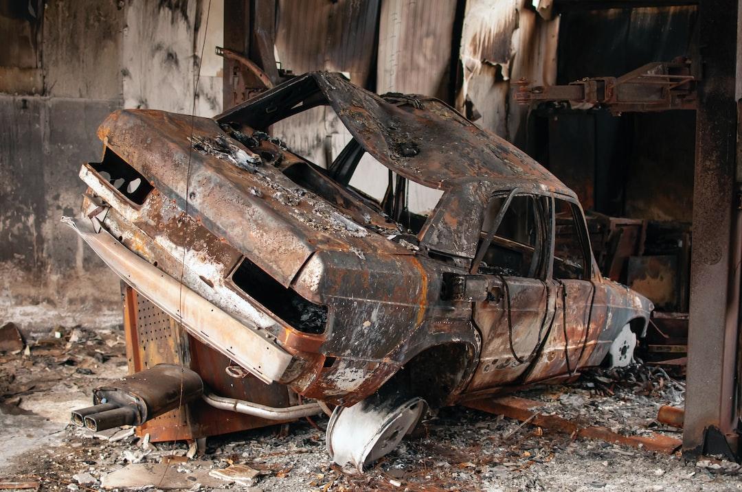 Car repair shop was victim of the flames