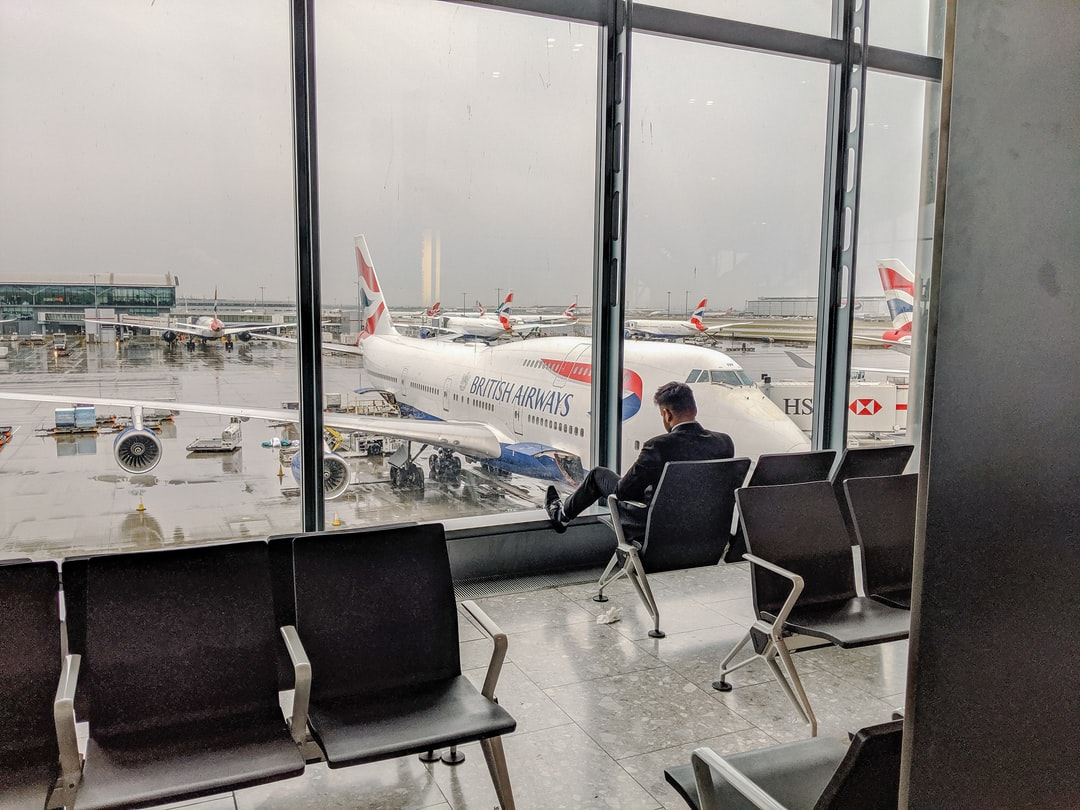 Get on the bus in London Heathrow Airport