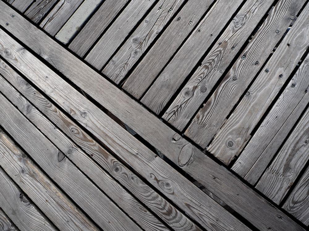 brown wooden floor during daytime