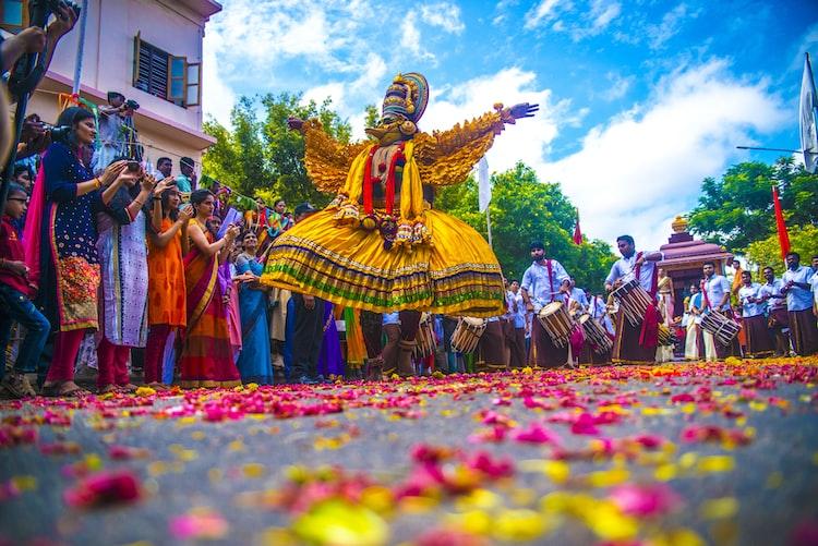 Onam Celebration in Kerala