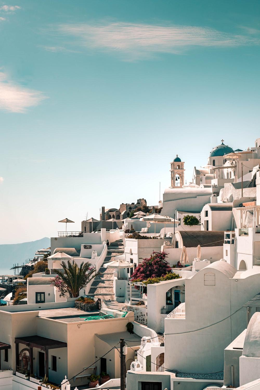 white concrete houses under blue sky during daytime