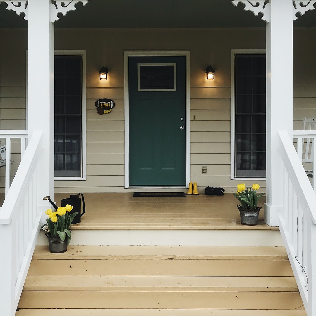 Front porch in the country