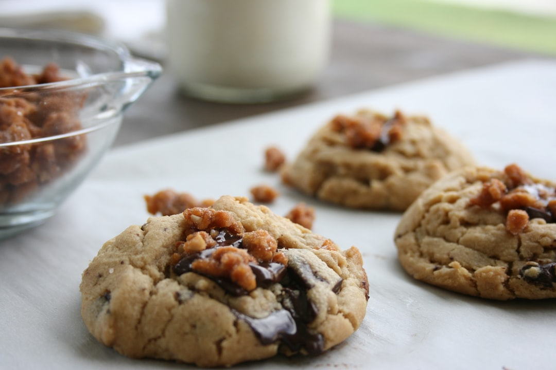 Chocolate Chip Cookie with Candied Nuts