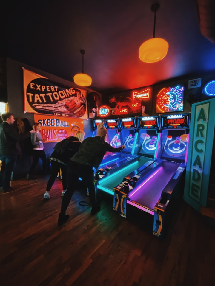 Have Real Arcade Experience with Our Arcade Machines and Retro Video Games