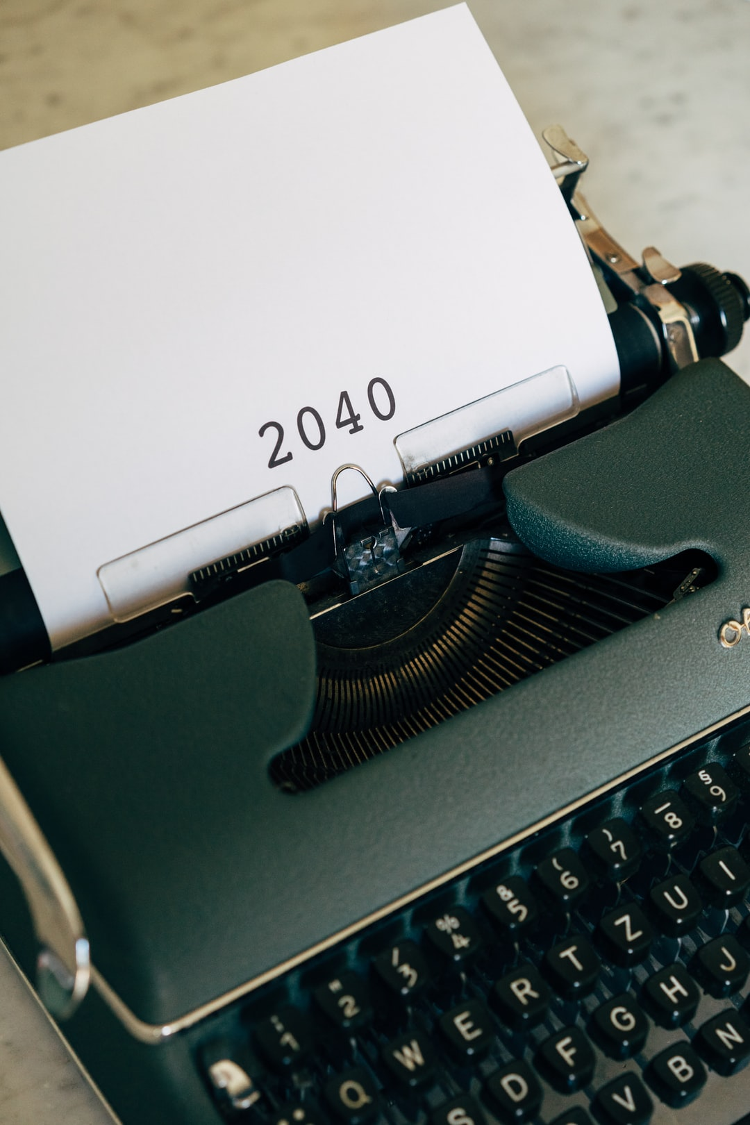 2040, twenty years in the future