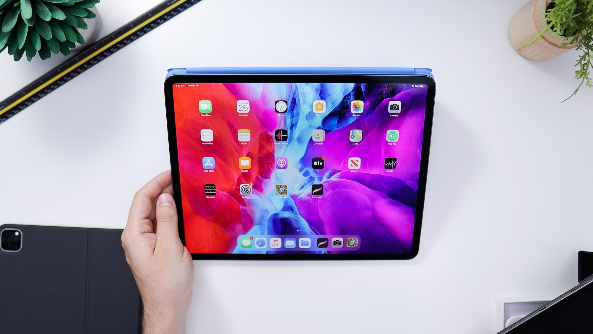 """iPad Pro 12.9"""" on Desk"""