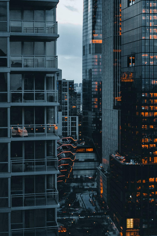 black and orange building during daytime