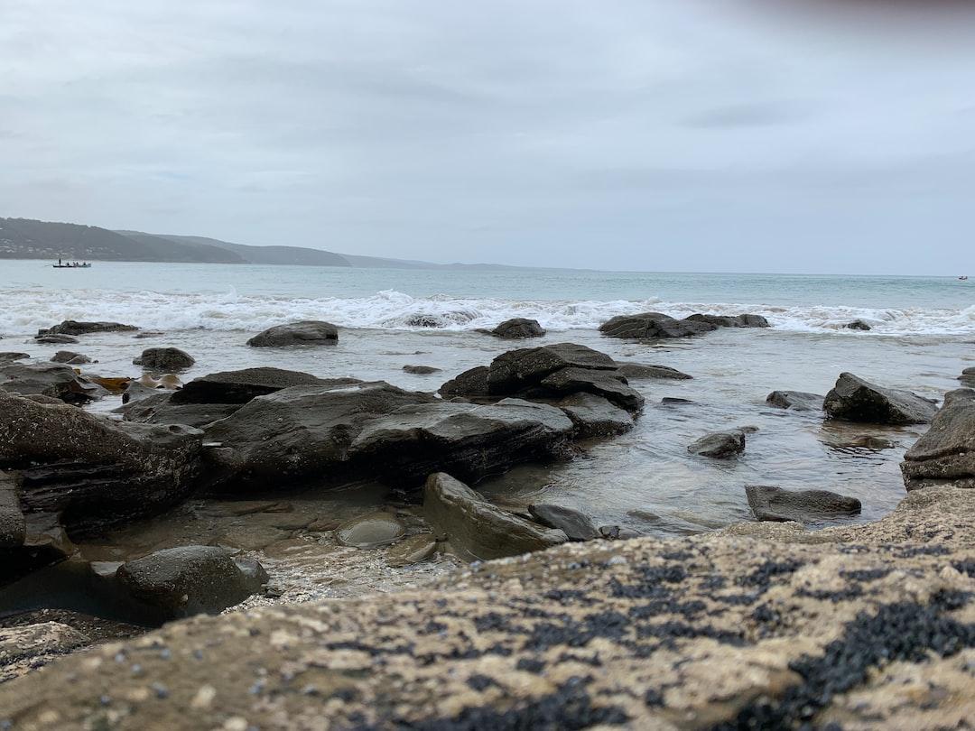stormy-coastline ... photo