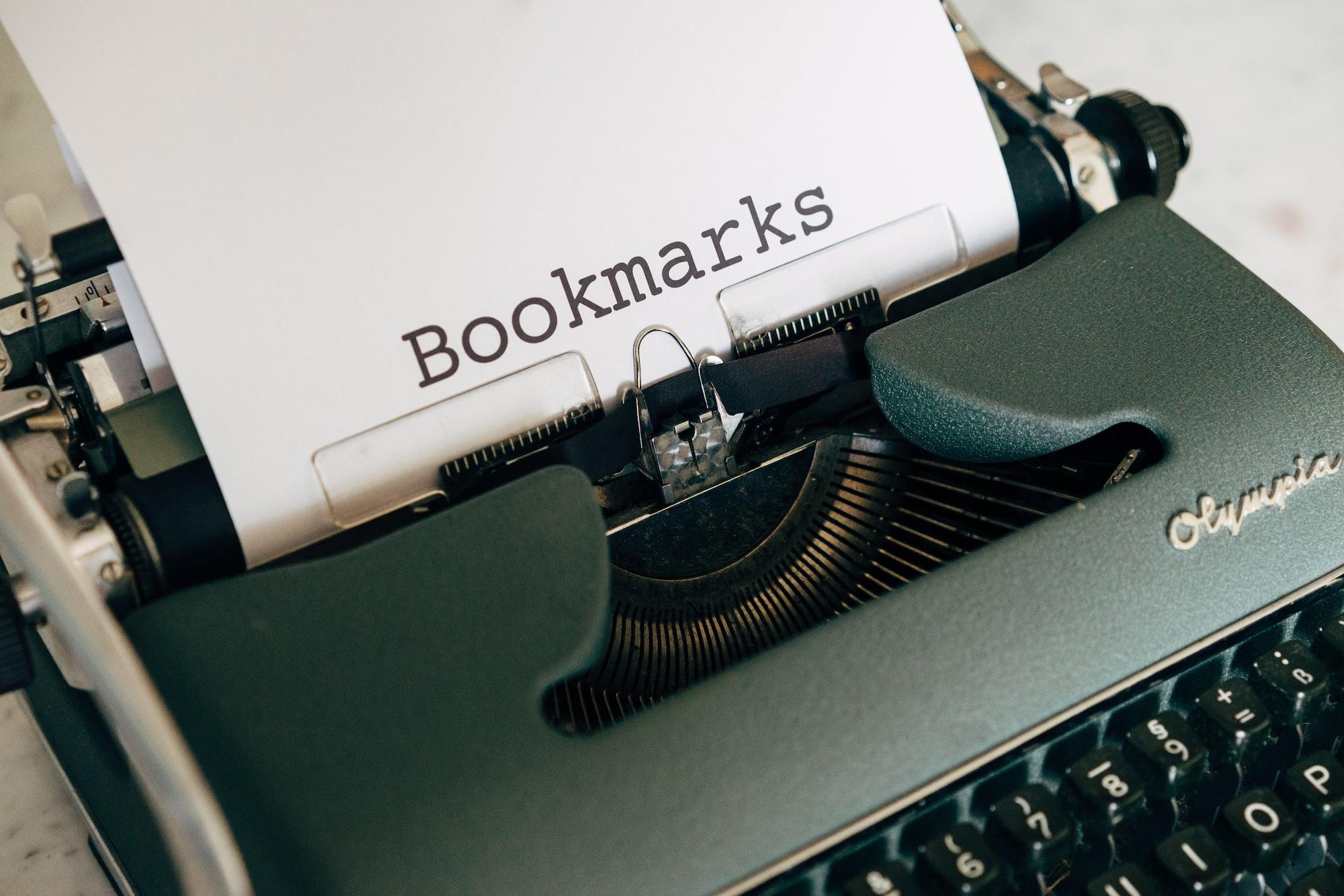 Bogmærker
