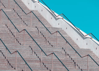 white concrete stairs during daytime