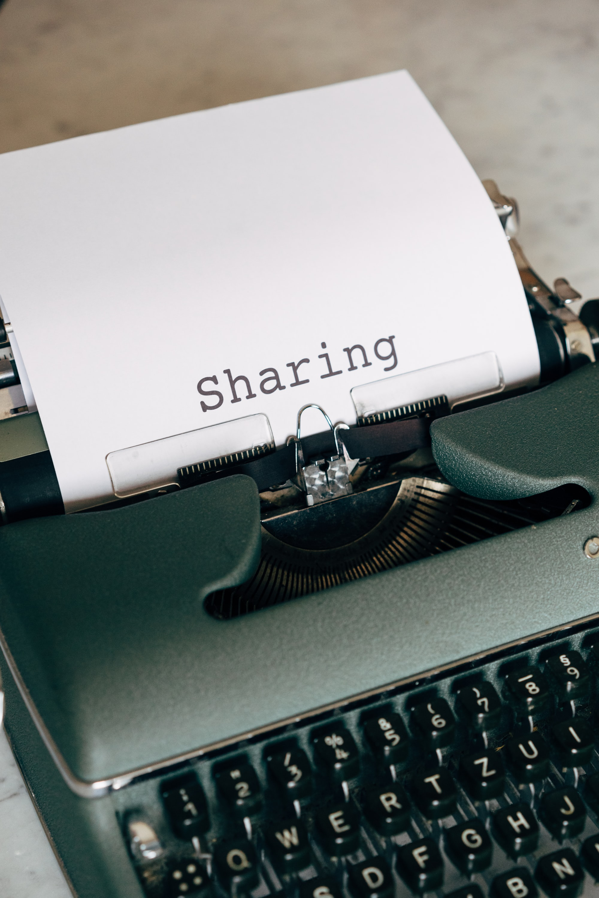 To Share or Not Share