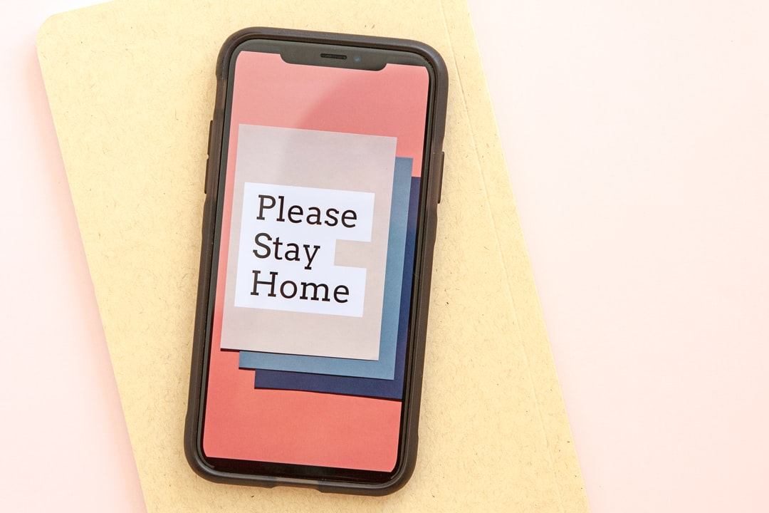 Please Stay Home #covid19 - unsplash