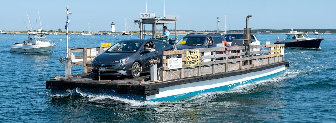 """On Time II"" Edgartown to Chappaquiddick Ferry, Martha's Vineyard"