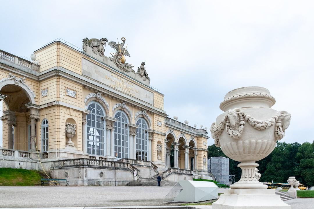 Gloriette pavilion at Schönbrunn Palace in Vienna, Austria.