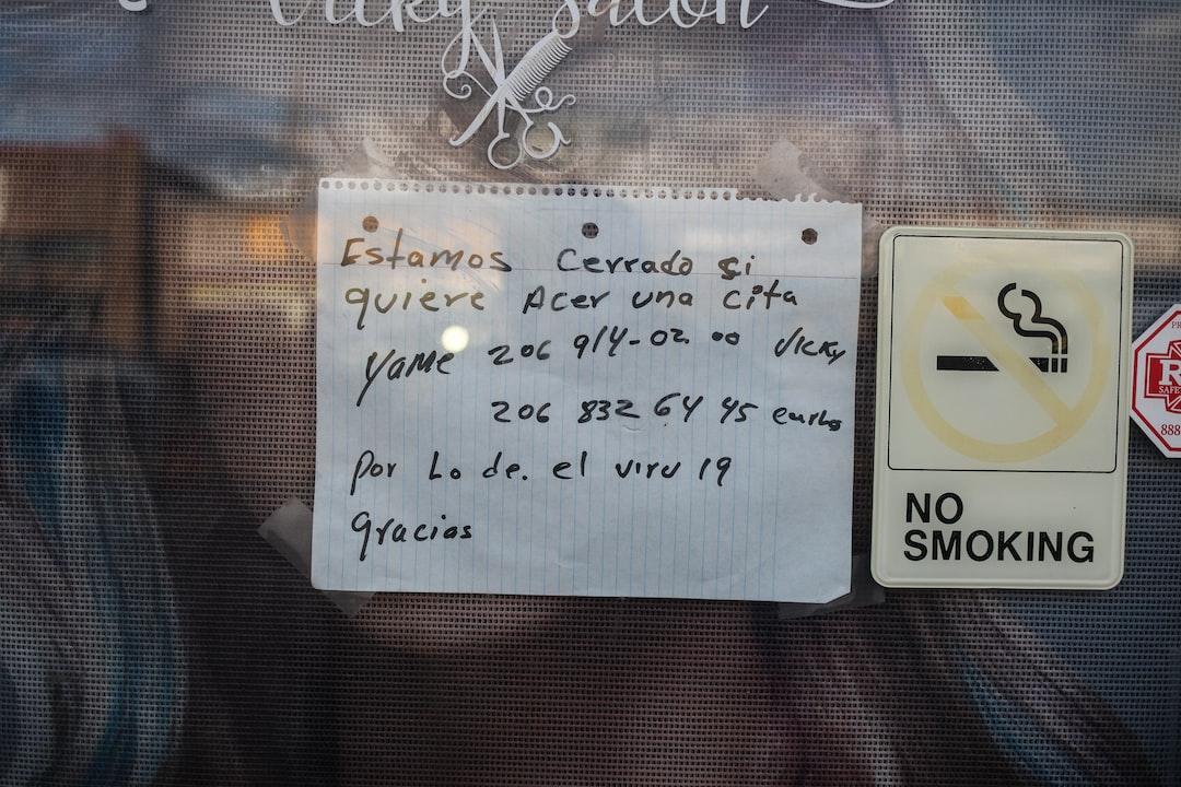 Vicki's hair salon business closure, covid 19.